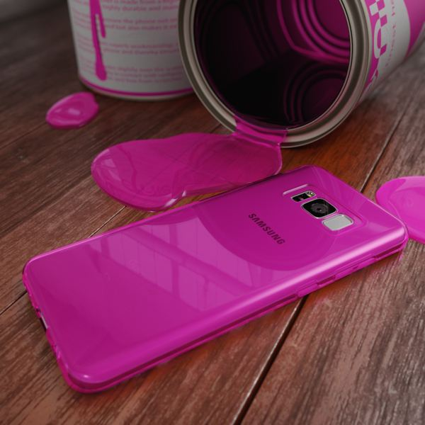 NALIA Handyhülle kompatibel mit Samsung Galaxy S8, Ultra-Slim Silikon Case Cover Crystal Schutzhülle Dünn Durchsichtig, Handy-Tasche Backcover Transparent Smart-Phone Hülle Bumper – Bild 19