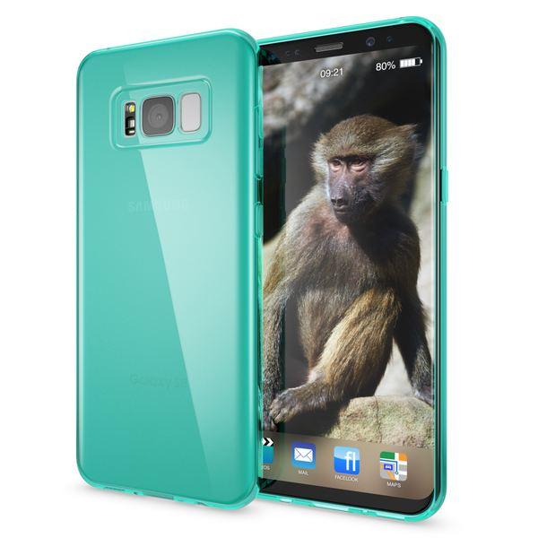 NALIA Handyhülle kompatibel mit Samsung Galaxy S8, Ultra-Slim Silikon Case Cover Crystal Schutzhülle Dünn Durchsichtig, Handy-Tasche Backcover Transparent Smart-Phone Hülle Bumper – Bild 22