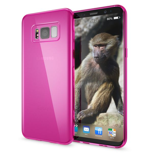 NALIA Handyhülle kompatibel mit Samsung Galaxy S8 Plus, Ultra-Slim Silikon Case Cover Crystal Schutzhülle Dünn Durchsichtig, Handy-Tasche Backcover Transparent Smart-Phone Hülle – Bild 17