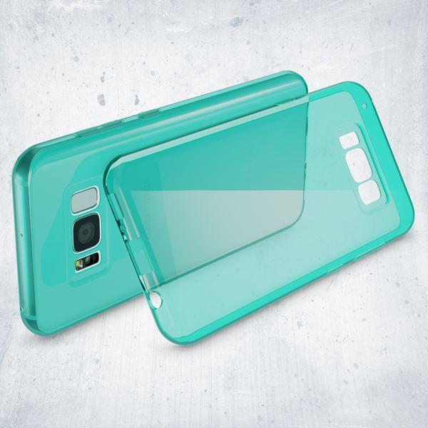 NALIA Handyhülle kompatibel mit Samsung Galaxy S8 Plus, Ultra-Slim Silikon Case Cover Crystal Schutzhülle Dünn Durchsichtig, Handy-Tasche Backcover Transparent Smart-Phone Hülle – Bild 23