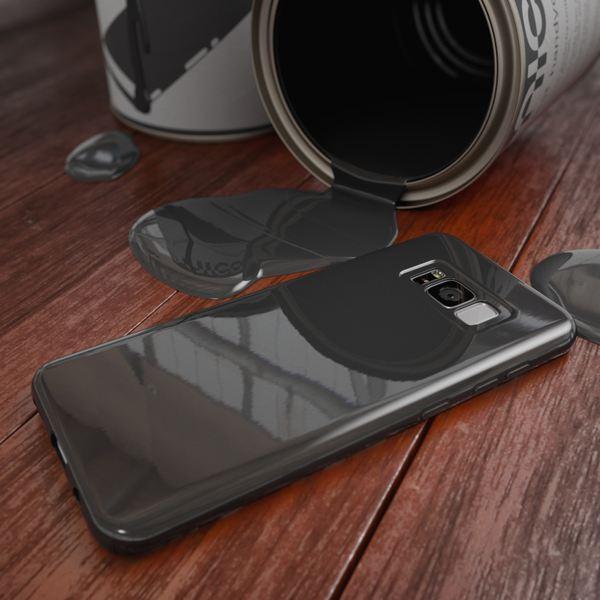 NALIA Handyhülle kompatibel mit Samsung Galaxy S8, Jelly Case Schutzhülle Ultra-Slim Silikon Back-Cover, Dünne Gummi Hülle Handy-Tasche Schale, Smart-Phone Bumper Skin Etui – Bild 9