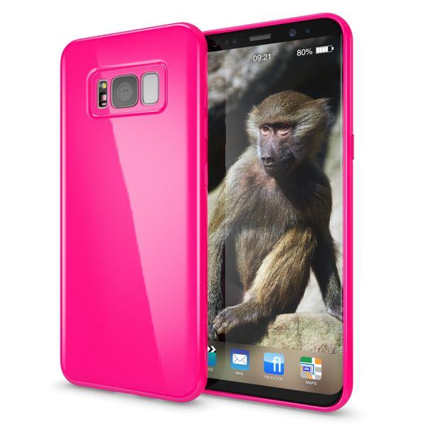 NALIA Handyhülle kompatibel mit Samsung Galaxy S8, Jelly Case Schutzhülle Ultra-Slim Silikon Back-Cover, Dünne Gummi Hülle Handy-Tasche Schale, Smart-Phone Bumper Skin Etui – Bild 17