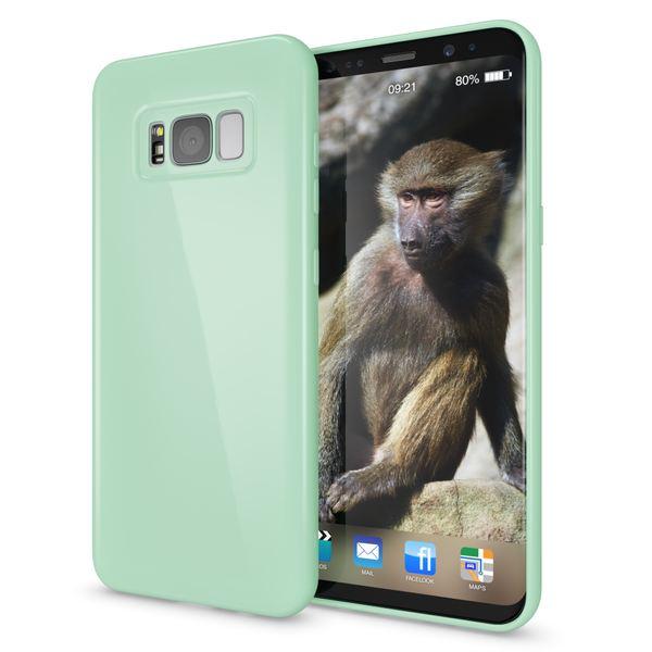 NALIA Handyhülle kompatibel mit Samsung Galaxy S8, Jelly Case Schutzhülle Ultra-Slim Silikon Back-Cover, Dünne Gummi Hülle Handy-Tasche Schale, Smart-Phone Bumper Skin Etui – Bild 22