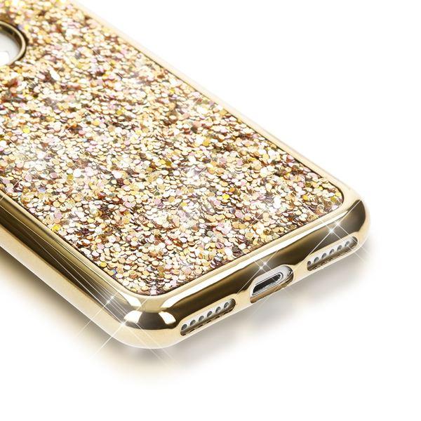 NALIA Handyhülle kompatibel mit iPhone 7, Glitzer Slim Back-Cover Case mit Maus Ohren, Glitter Silikon Hülle Schutzhülle Dünn, Strass Bling Etui Handy-Tasche Smart-Phone Bumper – Bild 18