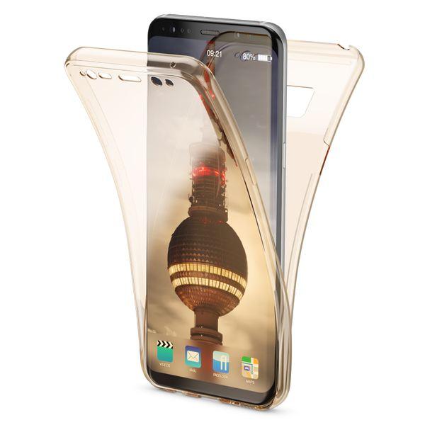 NALIA 360 Grad Hülle kompatibel mit Samsung Galaxy S8, Full Cover Rundum Doppel-Schutz Handyhülle, Dünnes Ganzkörper Silikon Case, Transparente Schutzhülle Vorne & Hinten Schale – Bild 14