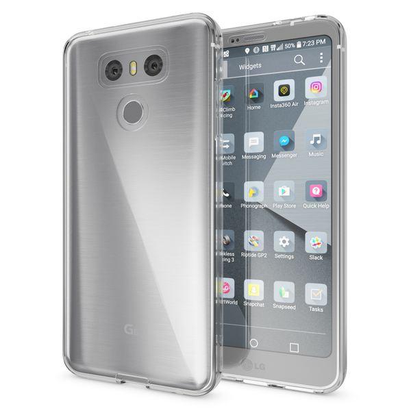 NALIA 360 Grad Hülle kompatibel mit LG G6, Full Cover Rundum Doppel-Schutz Handyhülle, Dünnes Ganzkörper Silikon Case, Transparente Schutzhülle Vorne & Hinten Handy-Tasche Schale – Bild 15