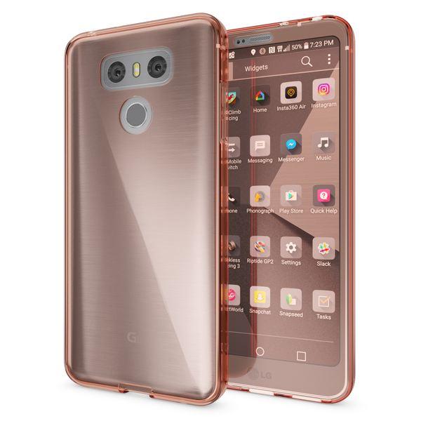 NALIA 360 Grad Hülle kompatibel mit LG G6, Full Cover Rundum Doppel-Schutz Handyhülle, Dünnes Ganzkörper Silikon Case, Transparente Schutzhülle Vorne & Hinten Handy-Tasche Schale – Bild 5