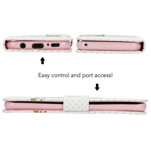 NALIA Klapphülle kompatibel mit Samsung Galaxy S8, Slim Kunst-Leder Flip-Case Vegan, Motiv Full-Body Smart-Phone Etui Schutzhülle Dünn, Handyhülle Wallet Bumper Skin Hülle – Bild 9