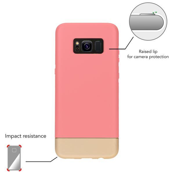 NALIA Handyhülle kompatibel mit Samsung Galaxy S8, Stoßfeste Schutzhülle Back-Cover Handy-Tasche Matt, Dünnes Slider Hardcase Zwei-teilig, Slim Etui Smart-Phone Hülle Bumper – Bild 22