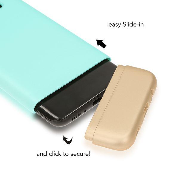 NALIA Handyhülle kompatibel mit Samsung Galaxy S8, Stoßfeste Schutzhülle Back-Cover Handy-Tasche Matt, Dünnes Slider Hardcase Zwei-teilig, Slim Etui Smart-Phone Hülle Bumper – Bild 12