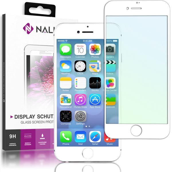 NALIA Schutzglas kompatibel mit iPhone 8 Plus / 7 Plus, 5D Full-Cover Displayschutz gehärtete Glas-Schutzfolie Bildschirm-Abdeckung, Schutz-Film Clear Screen Protector Tempered Glass – Bild 9
