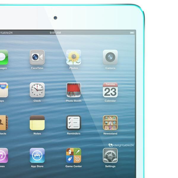 NALIA Schutzglas für Apple iPad Mini / Mini 2 / Mini 3, Full-Cover Displayschutz Tablet-Folie, 9H gehärtete Glas-Schutzfolie Bildschirm-Abdeckung, Schutz-Film HD Screen Protector - Transparent – Bild 4