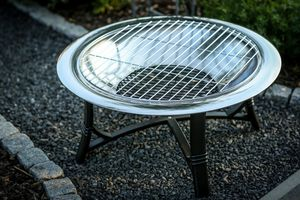 Grillrost für Feuerschalen, verchromt, 61,5cm Durchmesser 001