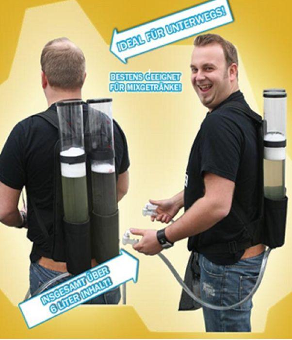 Getränkerucksack 2x3 Liter