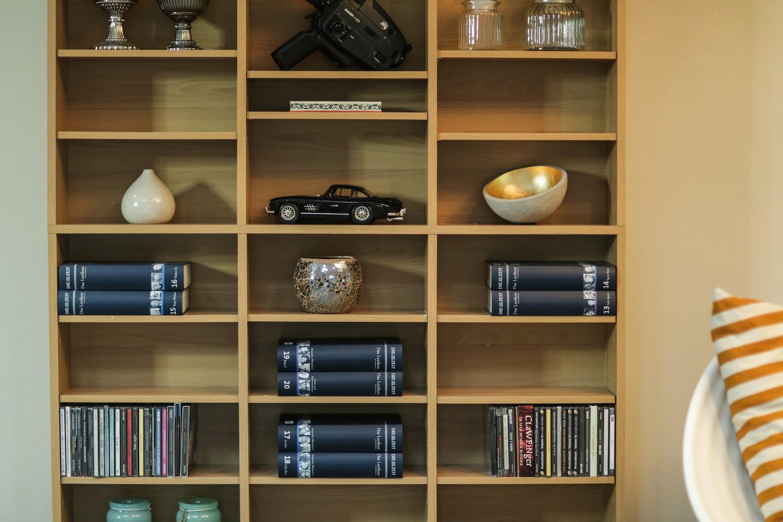CD DVD Blu-ray Regal Medienregal Raumteiler 1080 CDs oder 504 DVDs in  Holznachbildung