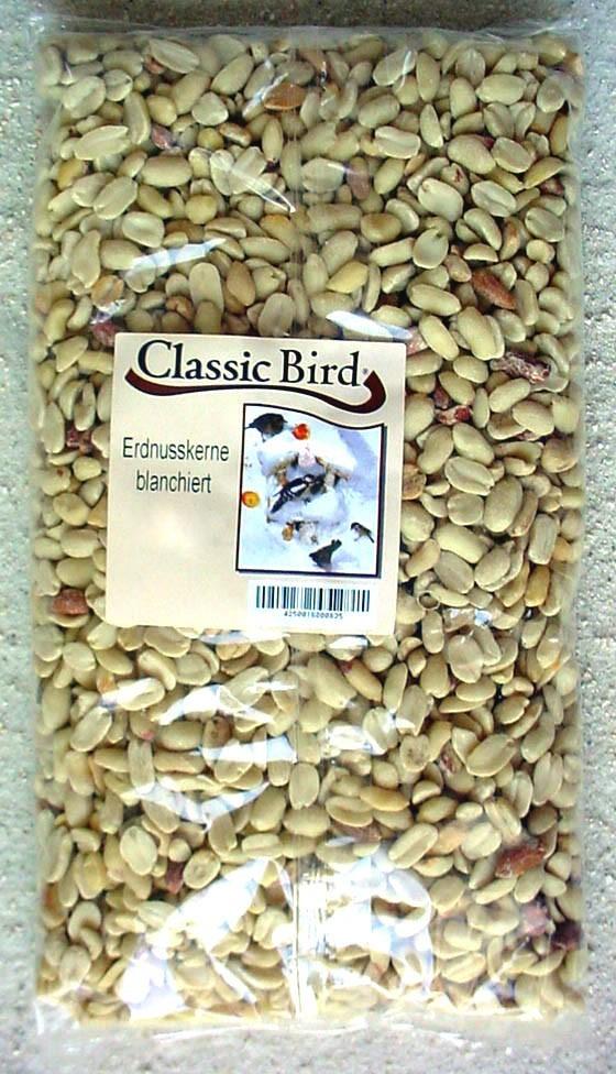 Erdnußkerne weiß blanchiert | 10kg Vogelfutter