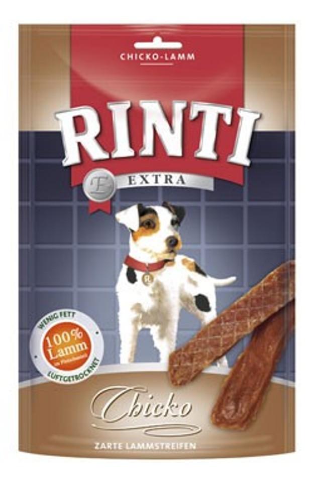Rinti Extra Chicko Lammstreifen | 12x 60g Hundesnack