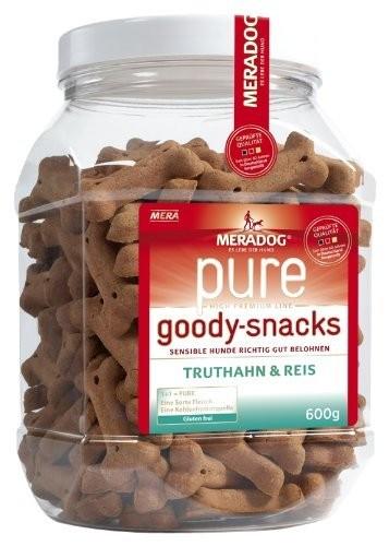 Mera Dog Goody Snacks Sensitive   600g Truthahn und Reis