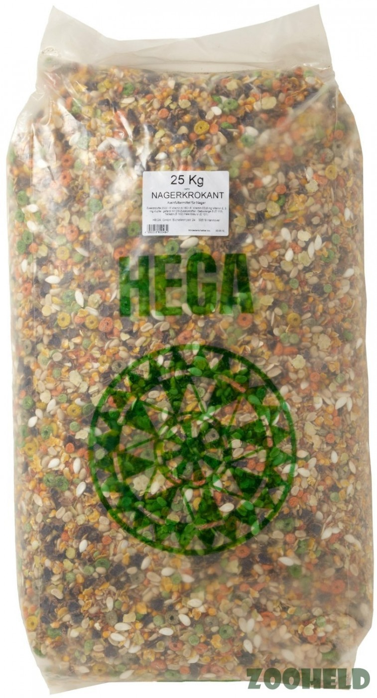 Classic Friends Nagerkrokant | 25 kg Nagerfutter ohne Pellets