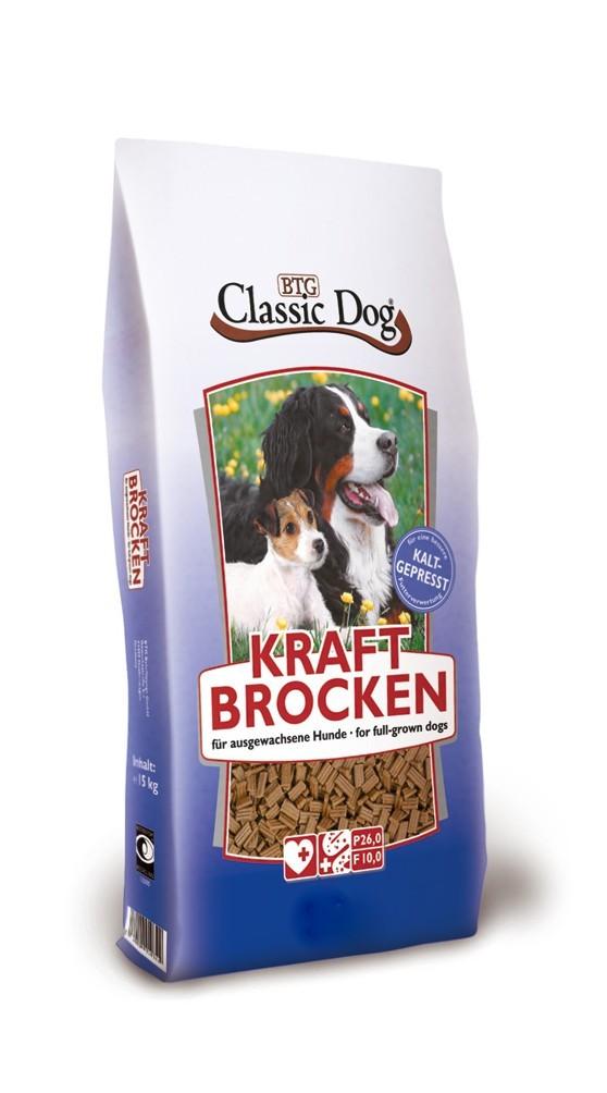 Classic Dog Kraftbrocken   15 kg BTG Hundetrockenfutter