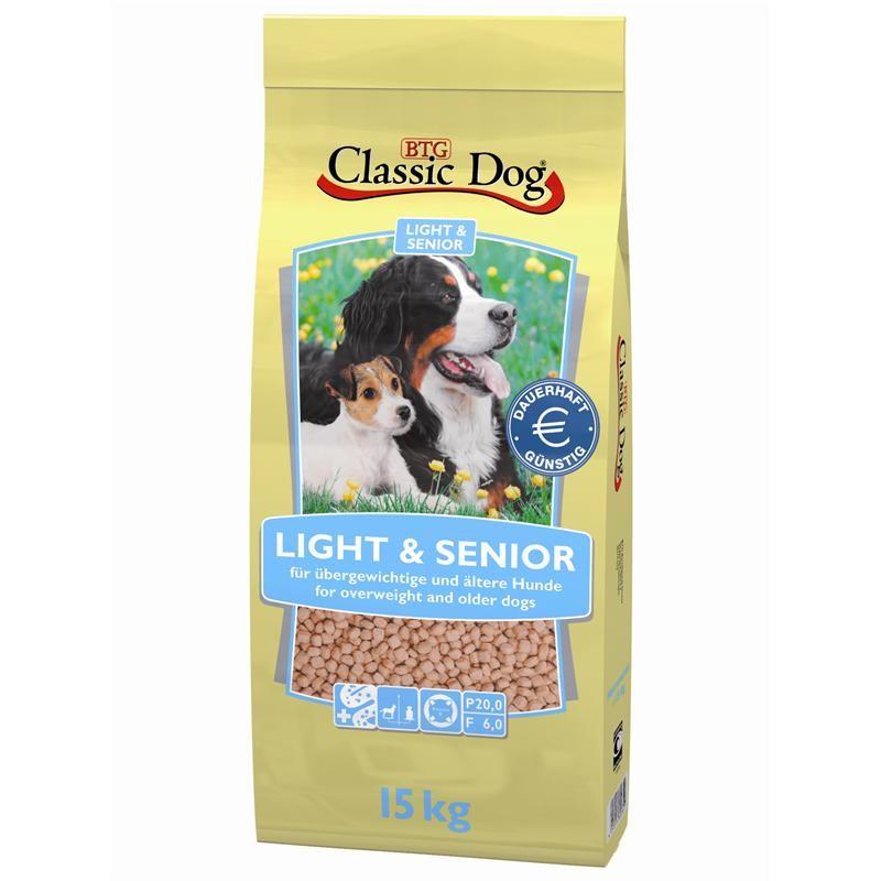 Classic Dog Light & Senior | 15kg Diät Trockenfutter