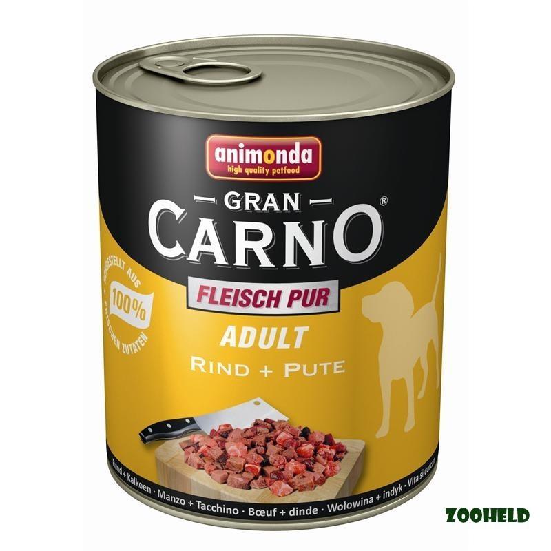 Animonda GranCarno Rind & Pute | 6x 800g Hundefutter