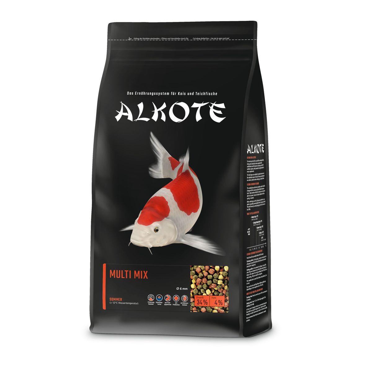 AL-KO-TE Multi-Mix 6mm | 1kg Koifutter, Teichfutter