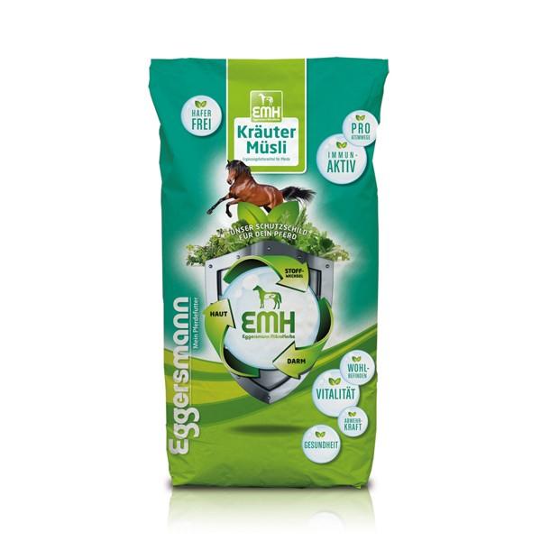 Eggersmann Wellness EMH Pferde   20kg Kräutermüsli