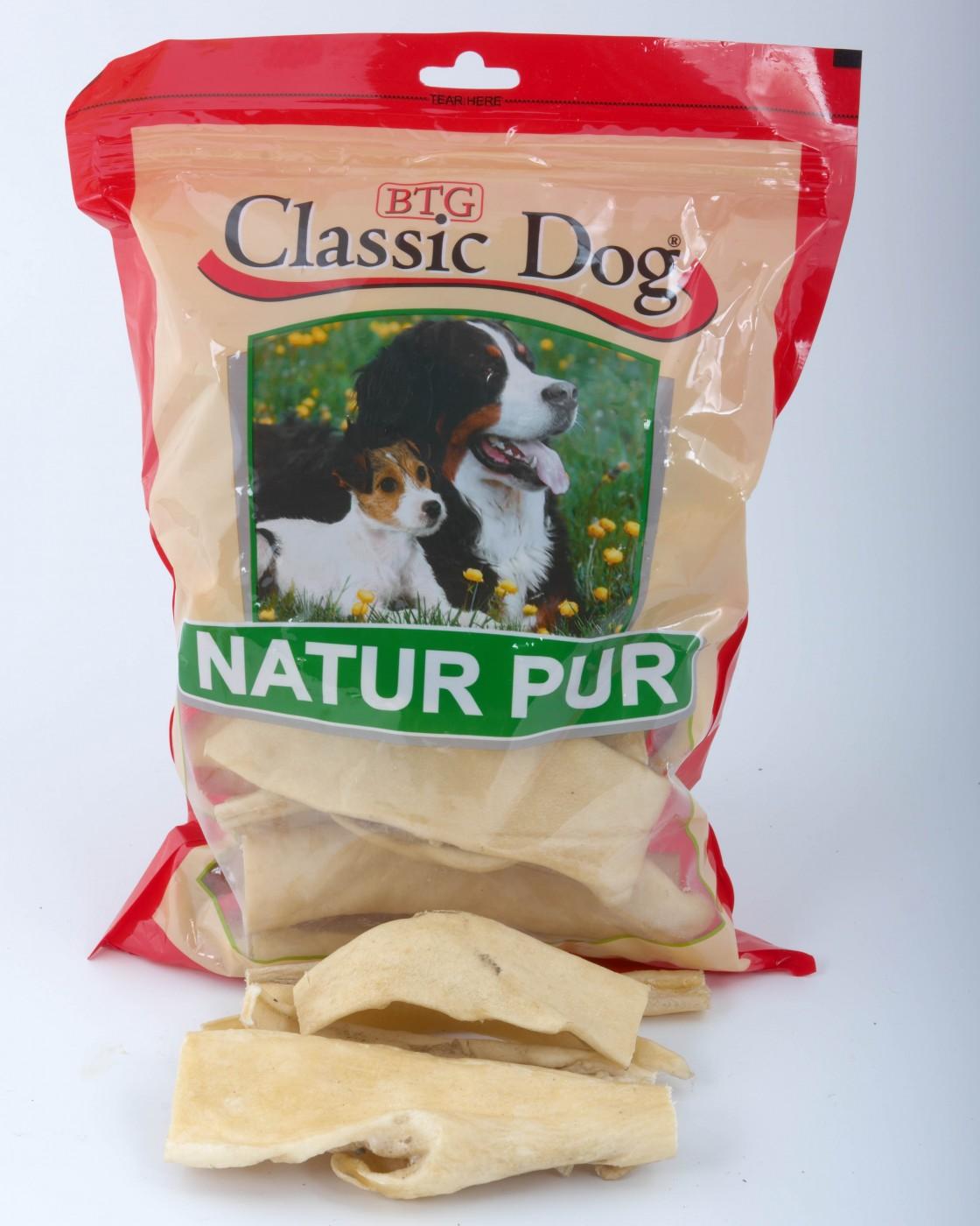 Classic Dog Rinderkopfhaut | 250g Hundesnack Trockenfleisch