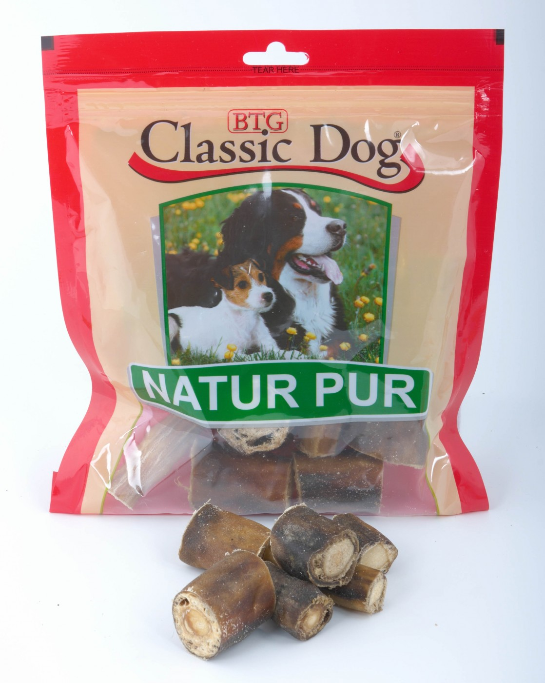 Classic Dog Ochsenschwanzspitzen | 200g Hundesnack