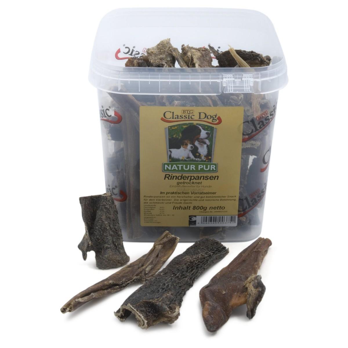 Classic Dog Rinderpansen | 800g Trockenfleisch Hundefleisch