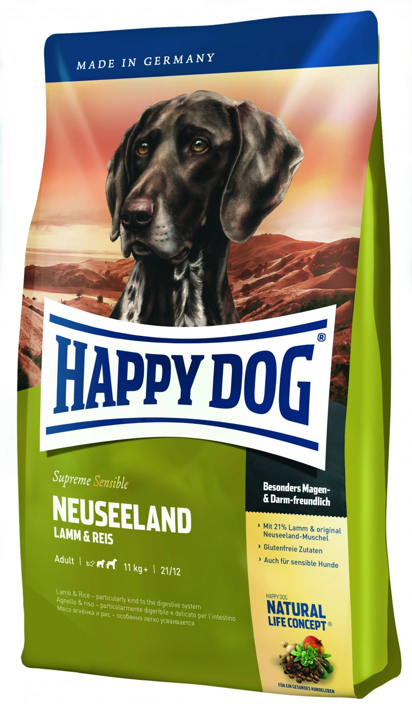 Happy Dog Supreme Neuseeland | 12,5kg Hundefutter
