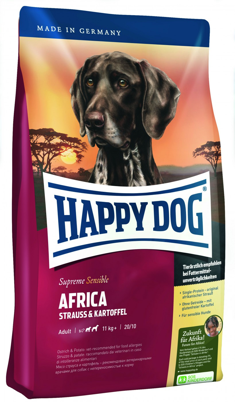 Happy Dog Supreme Africa | 12,5kg Hundefutter trocken