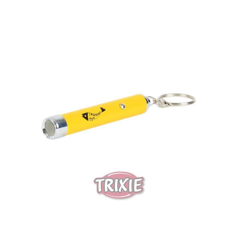 Trixie LED Pointer | Catch the Light gelb Katzenspielzeug