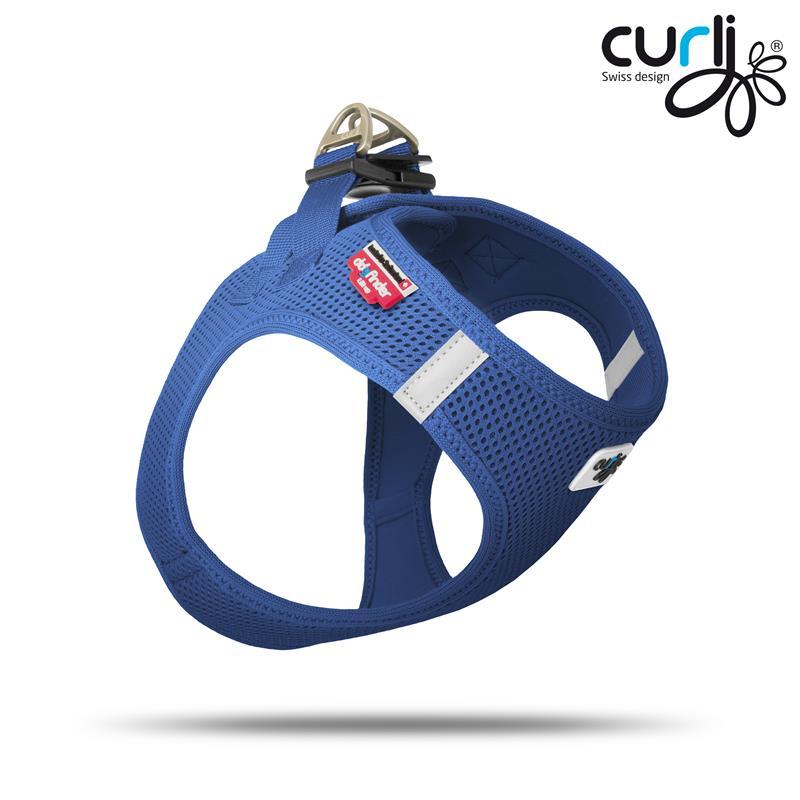 Curli Vest Geschirr Magnetic Blau | Gr. L Hundegeschirr