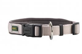 Hunter Halsung Neopren Vario Plus Grau | 28-30cm x 15mm Hundehalsband