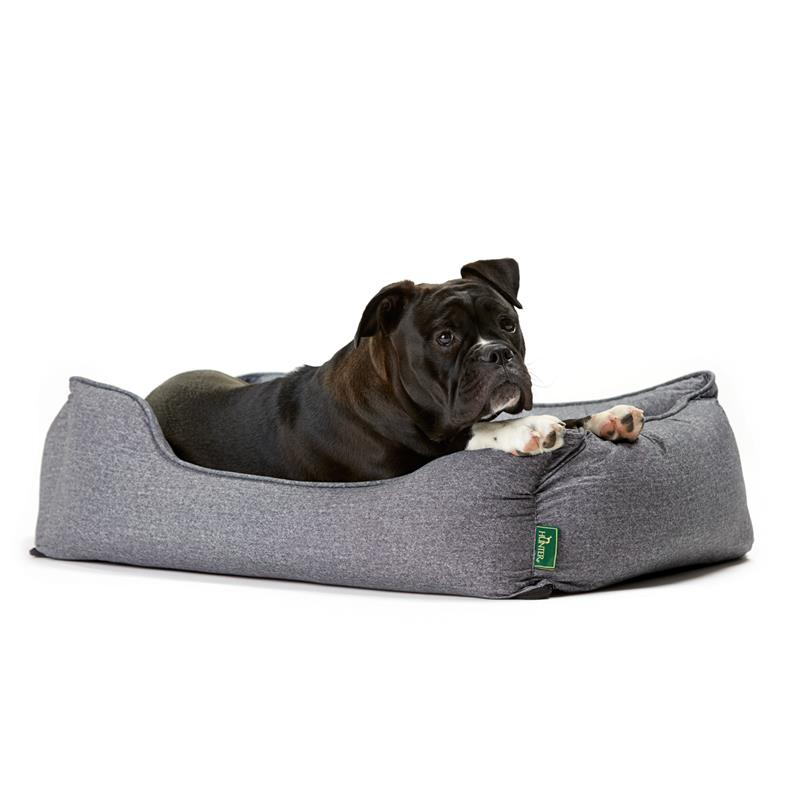 Hunter Boston grau | Gr. S 60 x 50cm Hundesofa, Hundebett