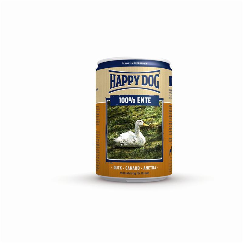 Happy Dog Ente Pur | 12x400g Hundefutter nass