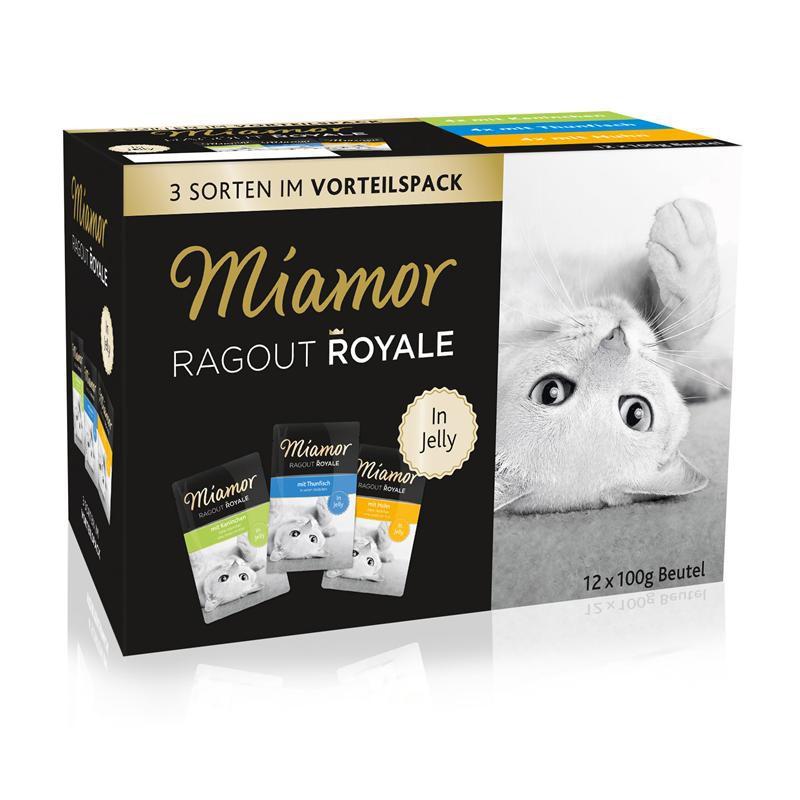 Miamor Ragout Royale in Jelly Multibox   48x 100g Katzenfutter nass