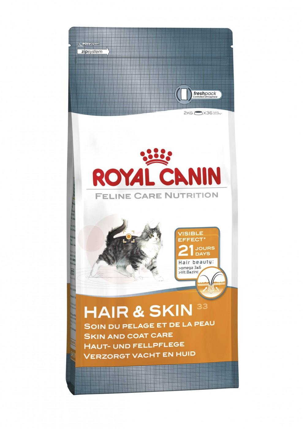 Royal Canin Hair und Skin 33 | 400g Katzenfutter trocken