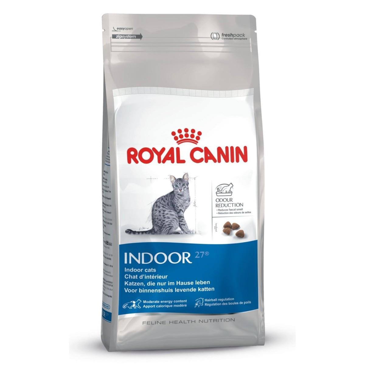 Royal Canin Indoor   2kg Katzenfutter für Hauskatzen