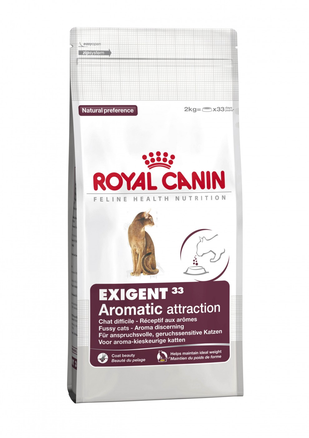 royal canin exigent 33 aromatic 4kg katzenfutter f r geruchsintensive katzen. Black Bedroom Furniture Sets. Home Design Ideas
