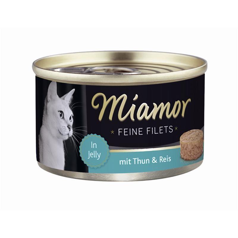 MIAMOR Feine Filets Thunfisch | 24x 100g Katzenfutter