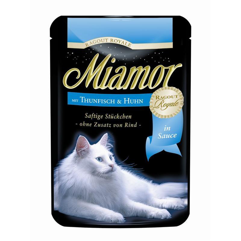 Miamor Ragout Royale Thunfisch   22x 100g Katzenfutter