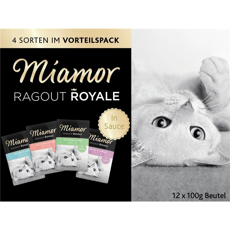Miamor Ragout Royale Multi Mix in Sauce | 48x 100g Nassfutter