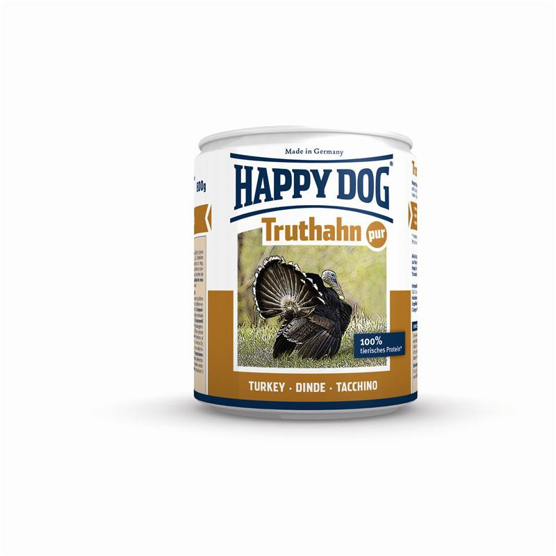 Happy Dog Dose Truthahn Pur | 12x 400g Hundenassfutter