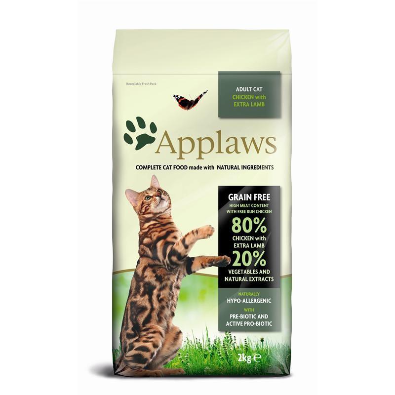 applaws katze trockenfutter h hnchen mit lamm 2 kg. Black Bedroom Furniture Sets. Home Design Ideas