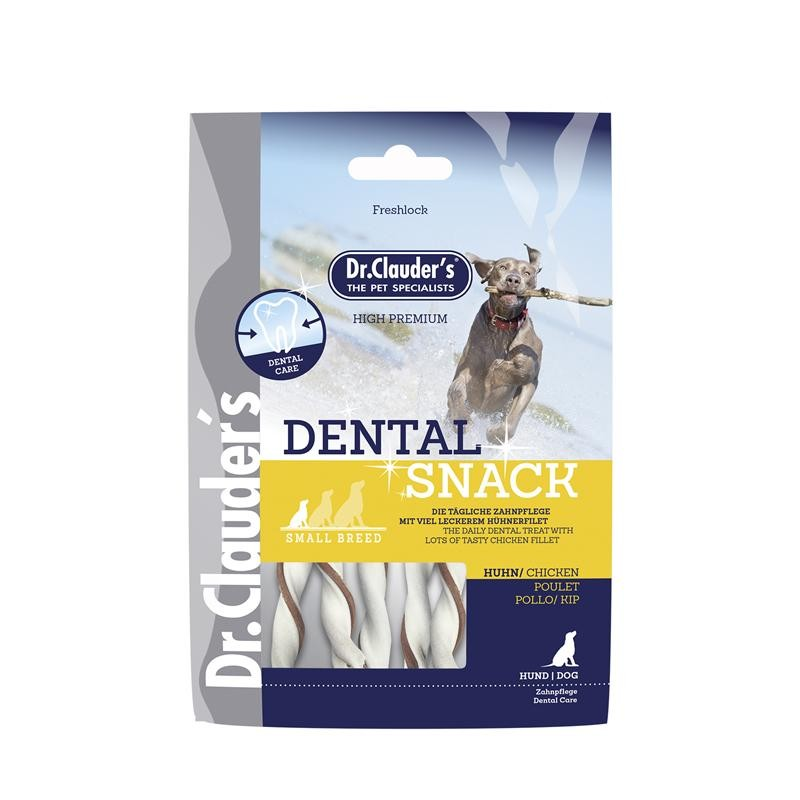 Dr. Clauders Dog Dent. Snack Huhn small breed | 80 g