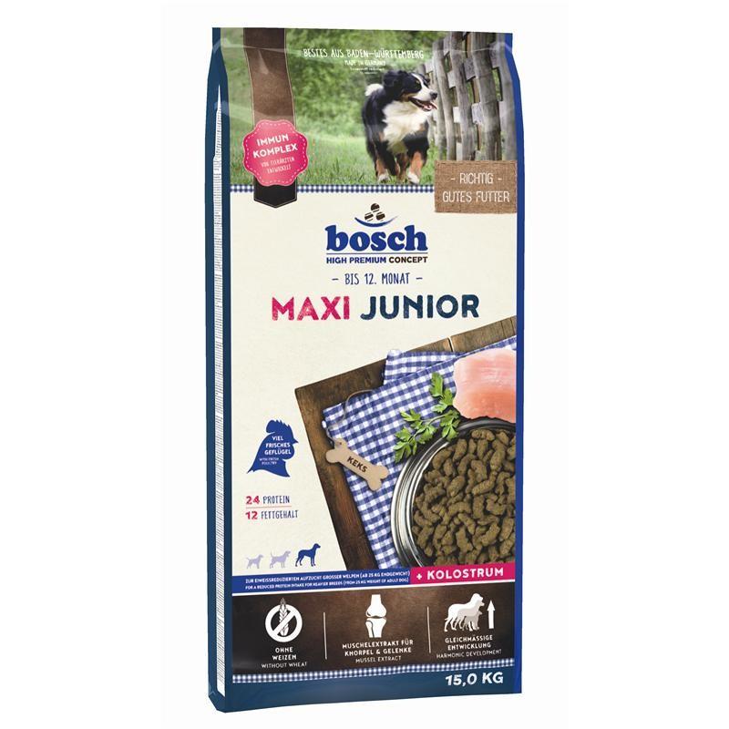 bosch maxi junior 15 kg hundefutter. Black Bedroom Furniture Sets. Home Design Ideas