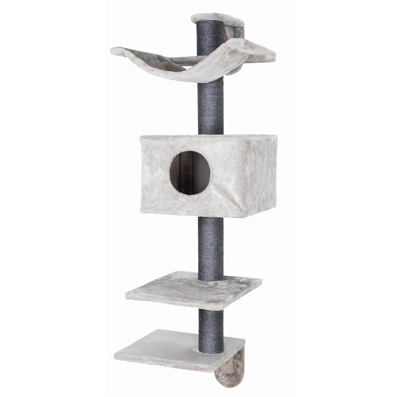 trixie kratzbaum dayna zur wandmontage 152 cm. Black Bedroom Furniture Sets. Home Design Ideas